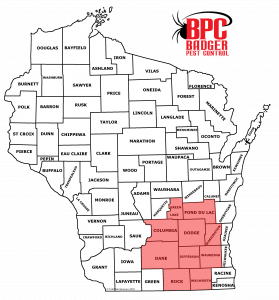 This is a map of the Wisconsin counties.